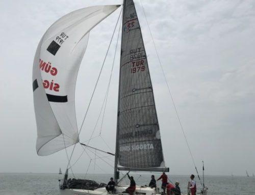 İYK 35. Yıl DHO Kupası Yat Yarışında IRC2 sınıfında birinci olduk
