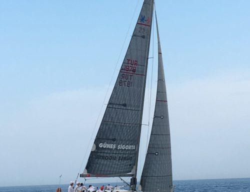 TEB Özel Bankacılık–TAYK / Arvento Marmara Kupası Yat Yarışında IRC2 sınıfında Güneş Sigorta Mary ile birinci Olduk